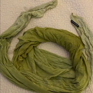 Eileen Fisher jersey scarf or wrap.